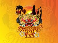 Balinese Barong Logo Style