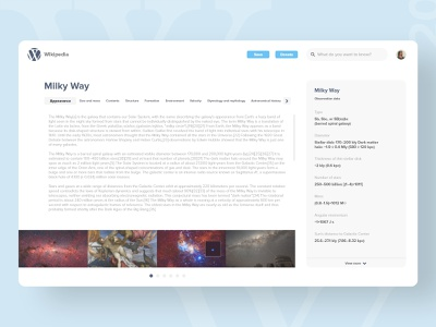 20   Wikipedia redesign wikipedia product page app detail design ui uxdaily dailychallenge adobexd