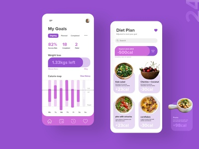 24   Weight tracker health fitness tracker weight product page app mobile detail design uxdaily ui dailychallenge adobexd