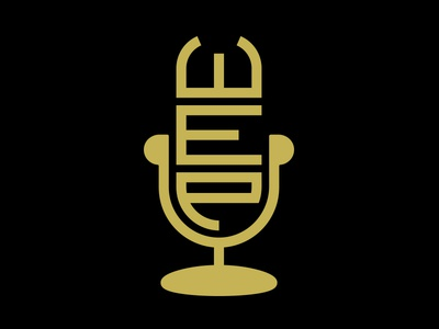The Well Endowed Podcast | Logo vector podcast microphone minimal icon logo brand