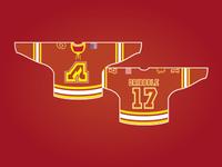 Adirondack Flames - Home Jersey