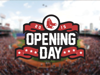 Fenway Park Opening Day