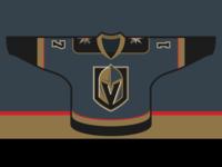 Vegas Golden Knights - Home Jersey Concept