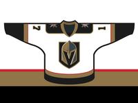 Vegas Golden Knights - Away Jersey Concept