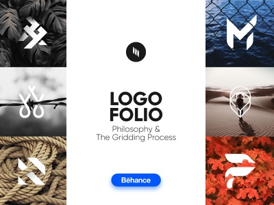 Logofolio Vol. 1 | Philosophy and The Gridding Process minimalist logo design app icon a d f i n m p  r t w gridding logogrid philosophy modern logo ui logo lettermark logo collection logofolio behance photography monogram logo design graphic design musafeer msaifulhak illustrator dribbble