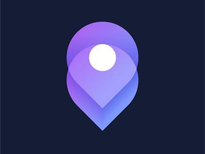 Logo for Nextex ui logo app icon modern logo shipping company logo 3d box graphic design blue logo purple logo nun logo design nextex behance icon illustrator gradient dribbble musafeer msaifulhak