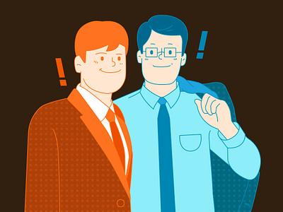 office illustration character office illustation illust graphic design vector art illustration icon