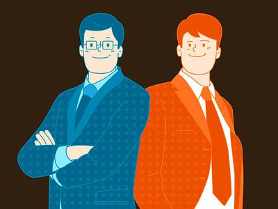 office illustration office illust character graphic design vector animation illustration