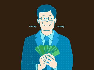 office illustration character illust graphic design vector animation illustration
