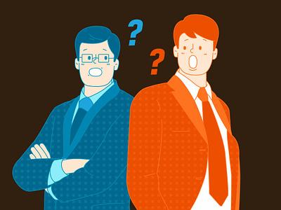 office illustration drawing character illust graphic design vector icon animation vector art illustration
