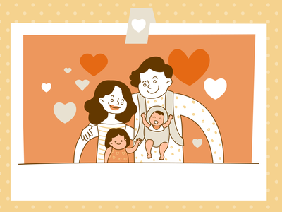 meaning of family family graphic design illust charachter illustration