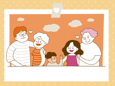 meaning of family illustration illust graphic family design character