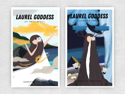 Laurel goddess
