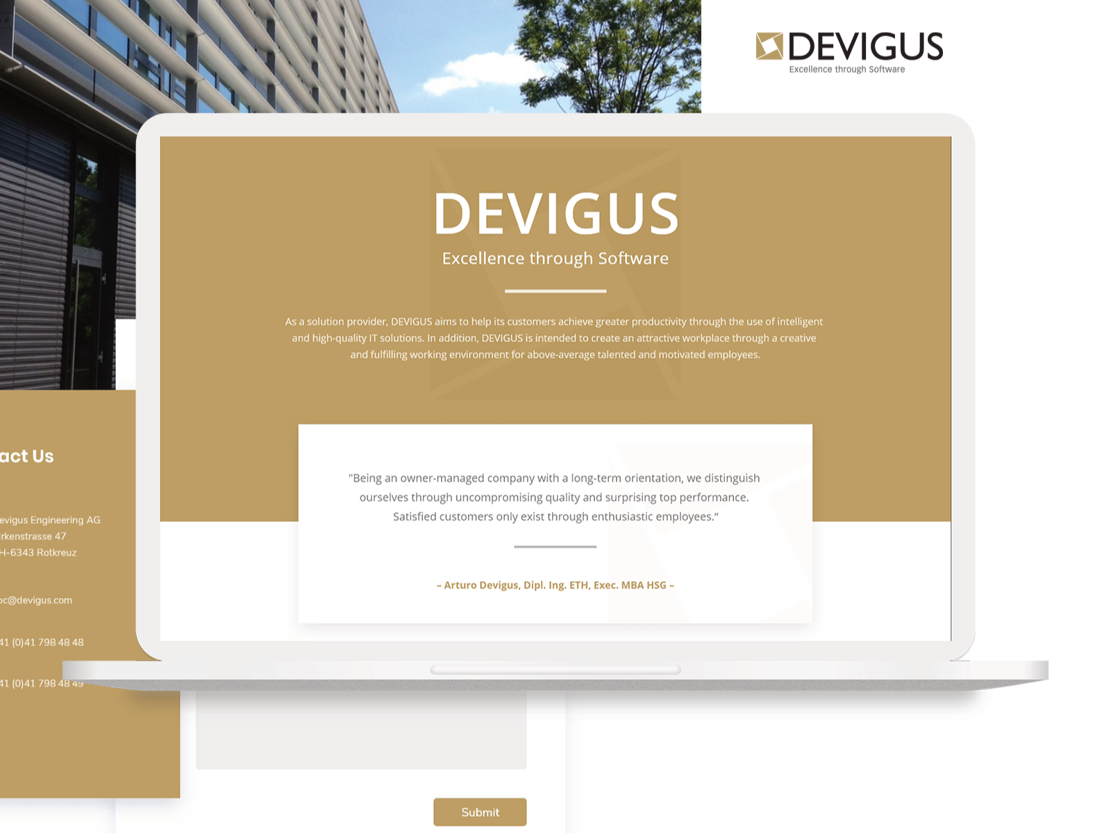 Devigus Web Design By Rozzaq On Dribbble