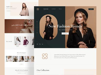 Fashion E-commerce Exploration ui fashion web ecommerce design ecommerce fashion ecommerce fashion design fashion brand fashion branding design