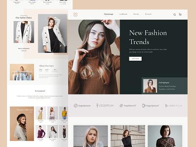 Fashion E-commerce Exploration shopping shop buying ux ui design ecommerce fashion design fashion
