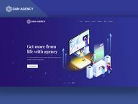 Agency UI Header Exploration