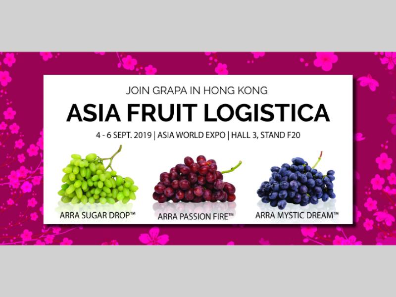 Asia Fruit Logistics - Facebook Banner social media illustrator photoshop graphic design facebook