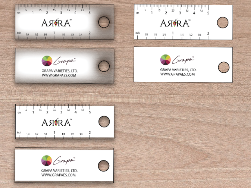 Sizers for the field illustrator graphic design promotional item