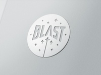 Blast glossy metal treatment