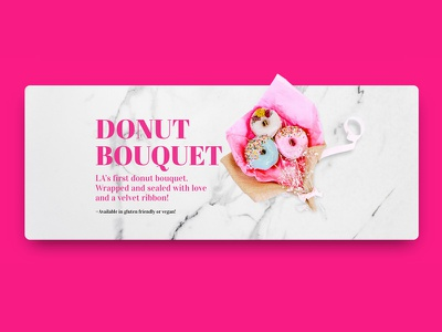Donut Princess product marketing adobe product design graphic design