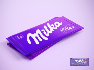 Milka Chocolate Package