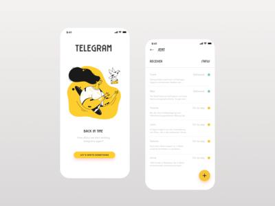 Telegram - let's send them again