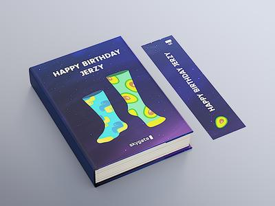 Birthday book cover