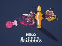 Hello Dribbble Family!