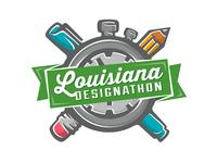 Louisiana Designathon Logo Concept
