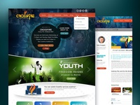 Crossfire Youth Ministry Website