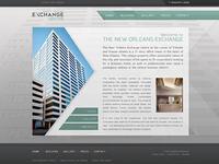 The New Orleans Exchange Centre Website Design