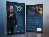 Thank You, Dad DVD Cover Design