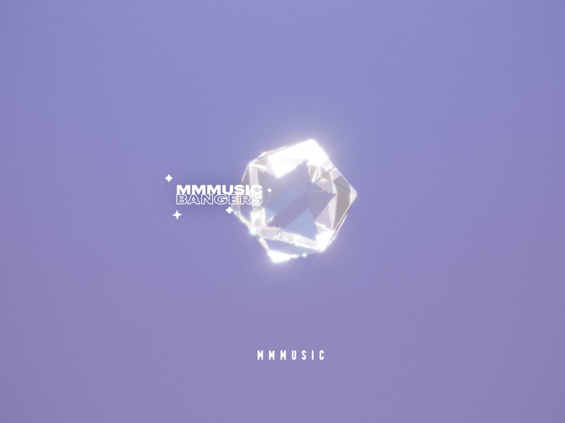 Music Bangers music playlist crystal 3d cinema 4d cinema4d
