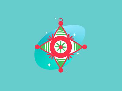 Magical Piñata design illustration geometric vector mexico christmas pinata piñata