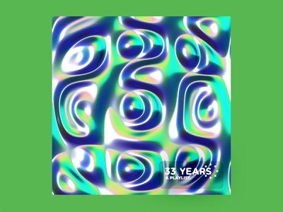 33 Years 3d mexico cd album playlist geometric gradients cinema4d