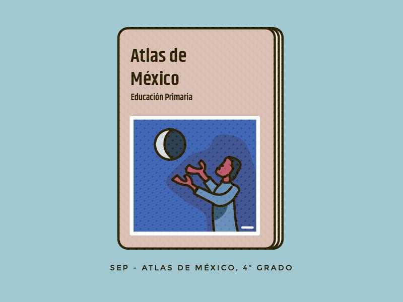 Atlas icon geometric paint atlas book education mexico vector artwork vector