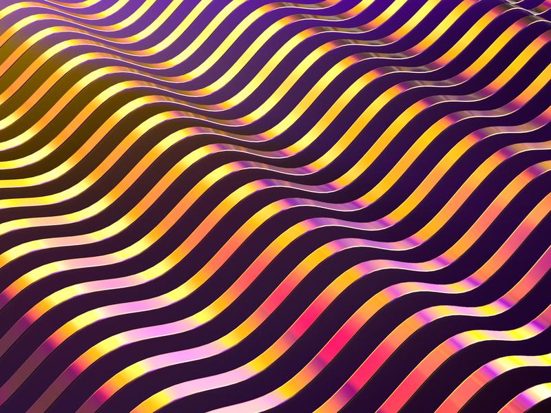 Waves metal golden gradient waves cinema 4d cinema4d cinema