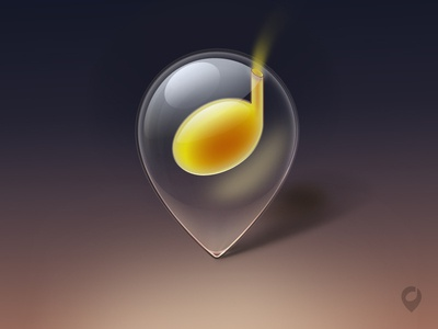 location based music icon