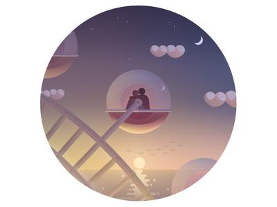 On the ferris wheel (HD)