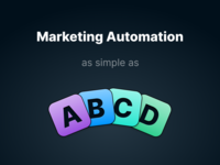 GoSquared Automation abcd saas landing page