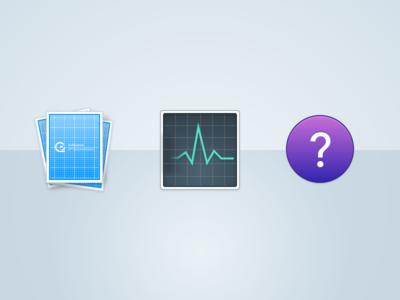 Documentation Icons gosquared icons help status docs api