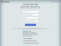 Gosquared   14 day free trial   sign up