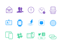 New Site. New Icons.