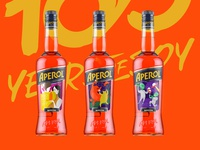 Aperol packaging concept