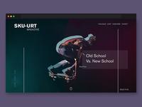 Sku-urt landing page