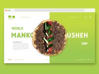 World Mankousheh Day landing page
