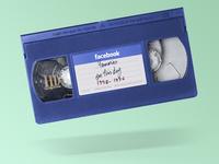 Facebook Memories VHS Tape
