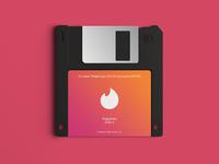 Tinder Floppy Disk
