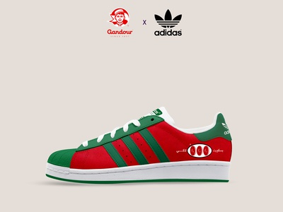 Adidas Superstar x Gandour